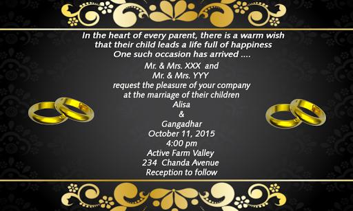 Download Wedding Invitation Cards Maker Apk Full Apksfull Com