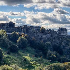 Edinburgh Castle by Morten Gustavsen - Buildings & Architecture Public & Historical ( scotland, edinburgh castle )