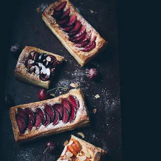 Easy Stone Fruit Tarts.