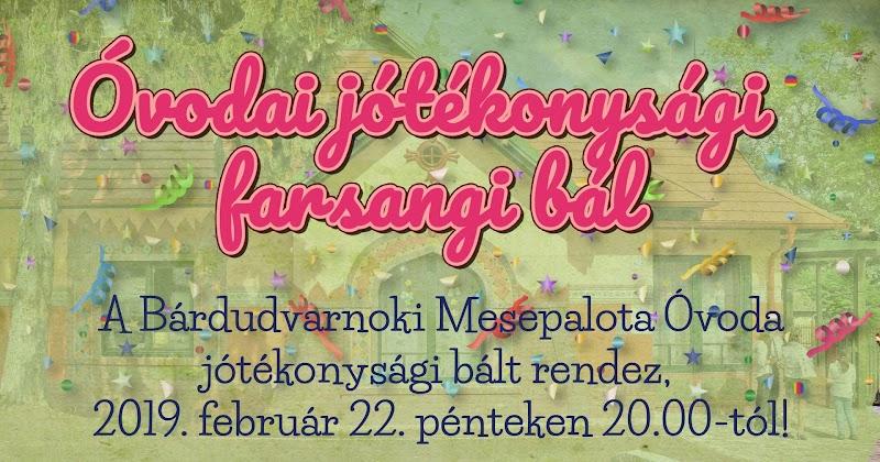Óvodai jótékonysági  farsangi bál 2019.02.22