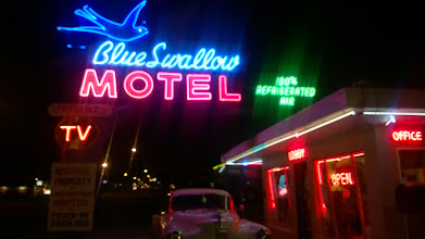 Photo: August 9-Tucumari has a fine collection of neon.  These are just a few.
