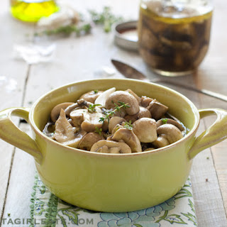 Simple Marinated Mushrooms