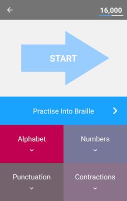 Braille Tutor - screenshot