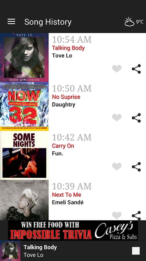 96.9 WBTI - Today's Hit Music- screenshot