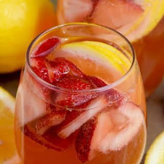 Strawberry Lemonade Spritzer.