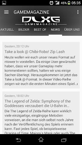 android GAMEMAGAZINE Screenshot 5