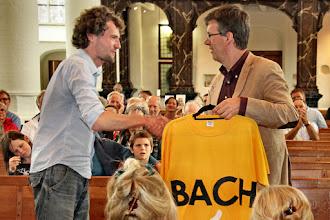 Photo: Een Bach-shirt voor Marijn