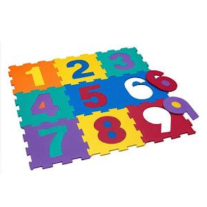 Covoras din spuma, model puzzle, ideal pentru bebelusi