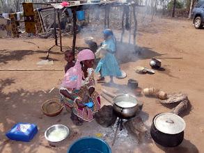Photo: le repas se prépare
