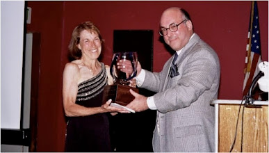 Photo: USATF-SCA Lifetime Achievement Awards Ceremony, 2004. Jacqueline Hansen