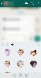 Exo WhatsApp Sticker Kpop APK screenshot thumbnail 2