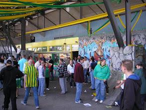 Photo: Laatste keer naar het supportershome in het Zuiderpark stadion.....