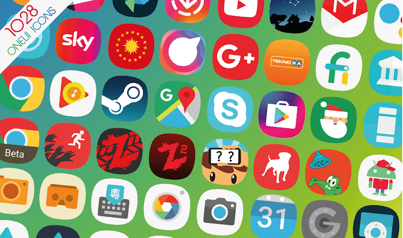 Galaxy S10 OneUi - Icon Pack APK Cracked Free Download