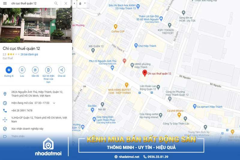 Để tìm được đường đi dễ dàng bạn có thể tìm kiếm chỉ dẫn trên Google map