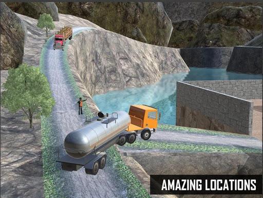 Oil Tanker Truck Simulator : Offroad Missions 2.3 screenshots 1