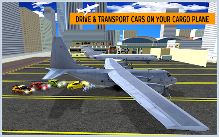 Airplane City Car Transporter 1.0 screenshot 1758571