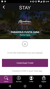 STAY Hotel Guest App- screenshot thumbnail