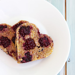 Blackberry Peach Oat Cookies