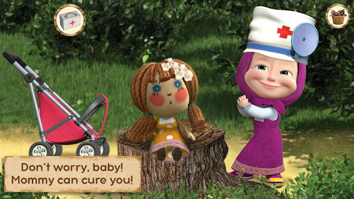 Masha and the Bear: Toy doctor 1.0.8 screenshots 11