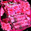 Pink Flowers Keyboard APK