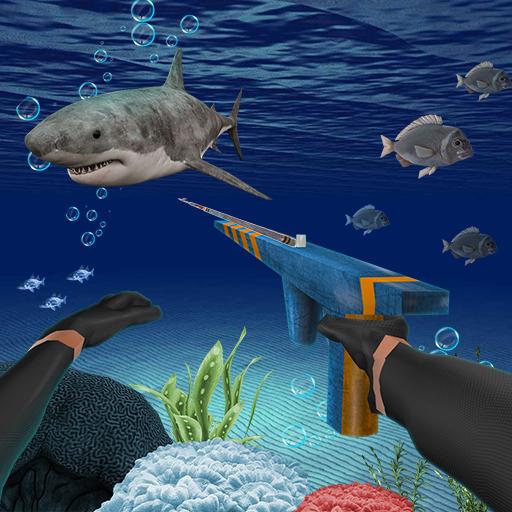 Underwater Fishing On Big Fish Simulator Icon