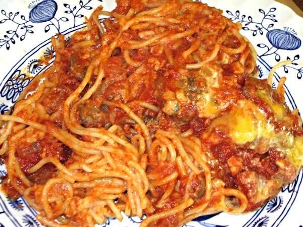 Fiesta Spaghetti Recipe