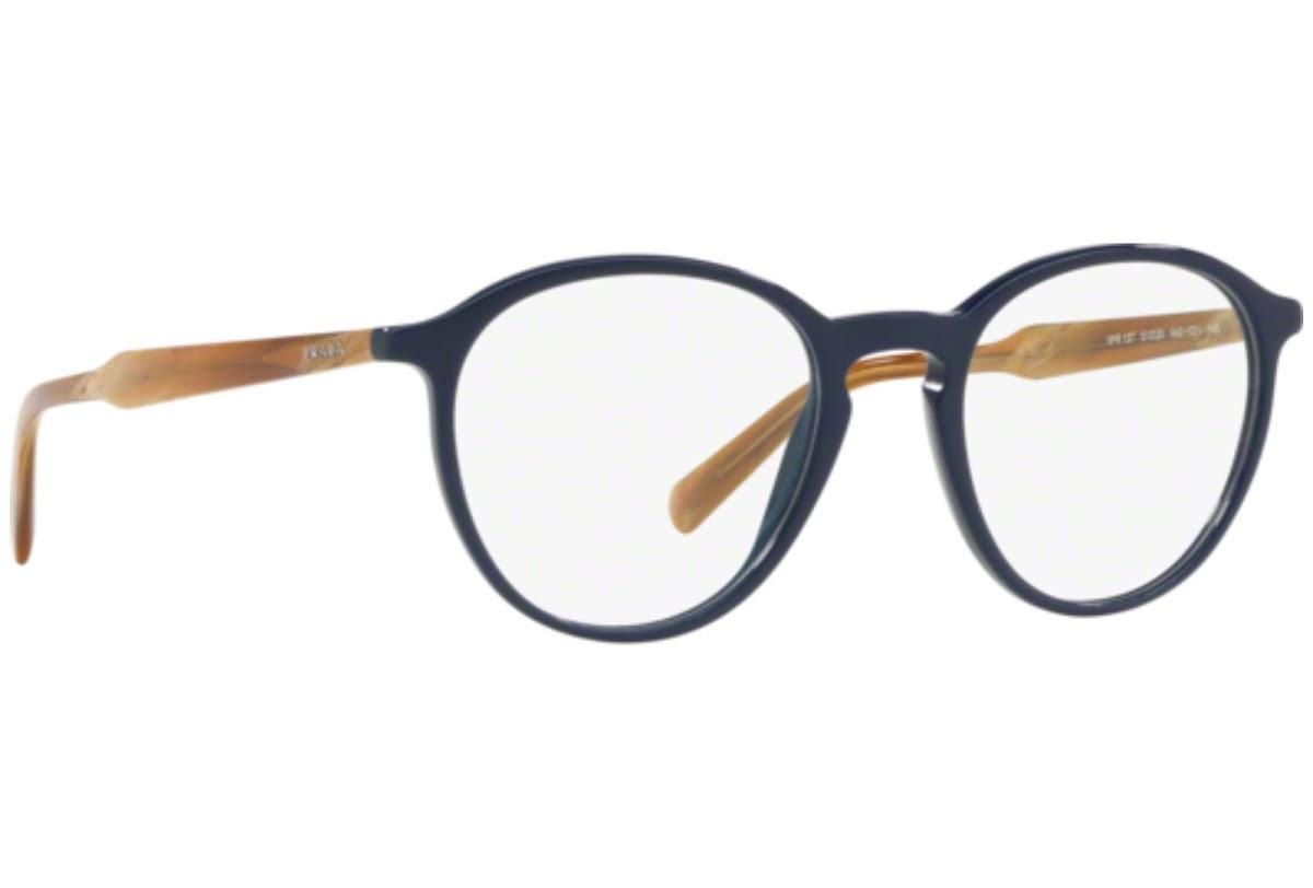 PRADA Prada Herren Brille » PR 13TV«, blau, VAZ1O1 - blau
