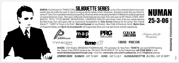 Photo: Advertisement for Silhouette SS1 event. Design by Anna Petrou.