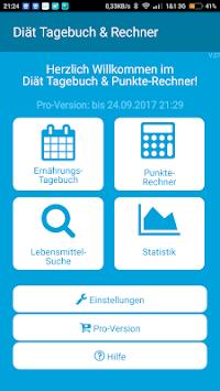 Punkte Rechner Diat Tagebuch Apk Latest Version Download Free