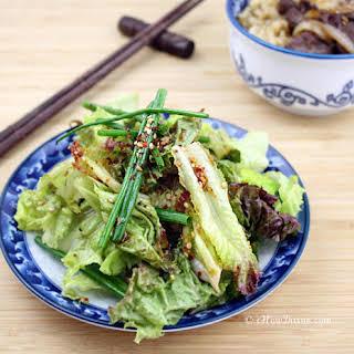 Sangchu Geotjeori (Korean Lettuce Salad).