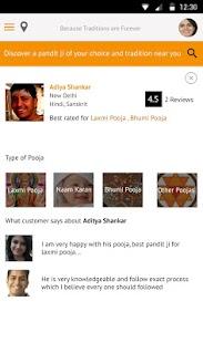 PanditJi App – Book a Pandit screenshot