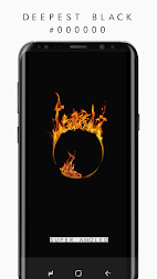 🔝 AMOLED 4K Black Wallpapers , Dark Backgrounds APK screenshot thumbnail 4