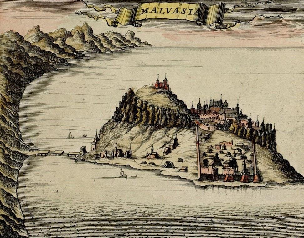 A cidade escondida de Menemvasia