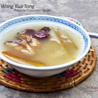Lou Wong Kua Tong (Mature Cucumber Soup).