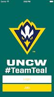 Screenshot of UNCW Team Teal