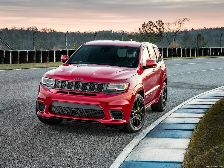 New Grand Cherokee Trackhawk raises the performance bar in the sports SUV segment. Picture: SUPPLIED