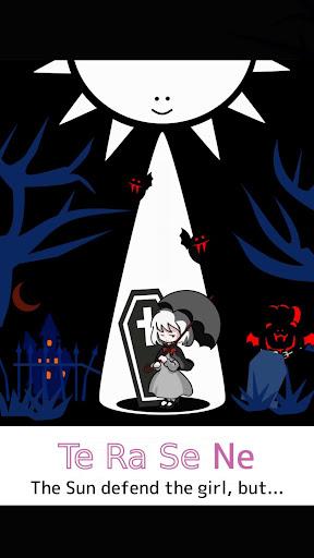 Girl x Sun - Terasene - Tower defence & Novel game apktram screenshots 1