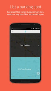 ParqEx - Find or List Parking- screenshot thumbnail