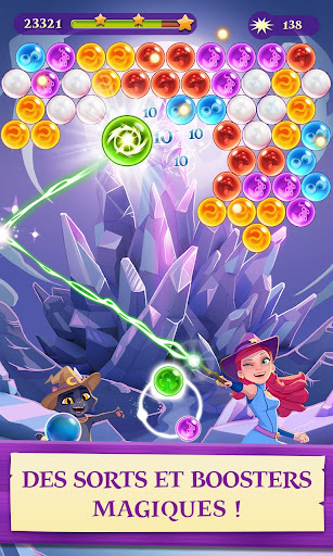 Bubble Witch 3 Saga fond d'écran 2