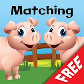 Farm Animal Picture Match Free