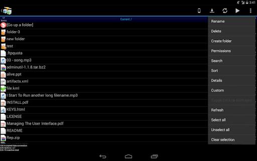 AndFTP screenshot 9