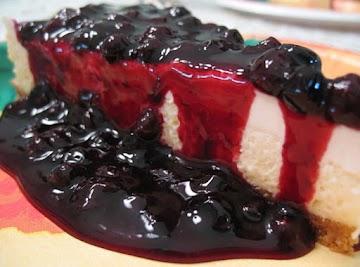 Huckleberry Cheesecake Recipe