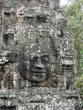 Photo: Bayon is famous for its faces.