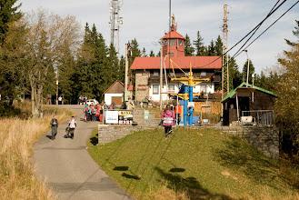 Photo: Horní stanice lanovky na Pancíři, 1214 m. n. m.