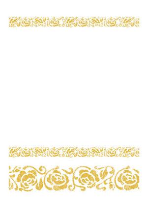 Guldduk, vit/guld
