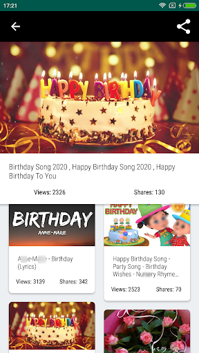 Awe Inspiring Download Happy Birthday Songs Free For Android Download Happy Funny Birthday Cards Online Fluifree Goldxyz