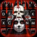 Bloody Creepy Lady Keyboard Theme icon