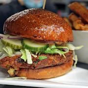 Mulligans veggie burger