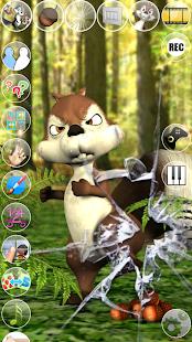 Talking James Squirrel - screenshot thumbnail