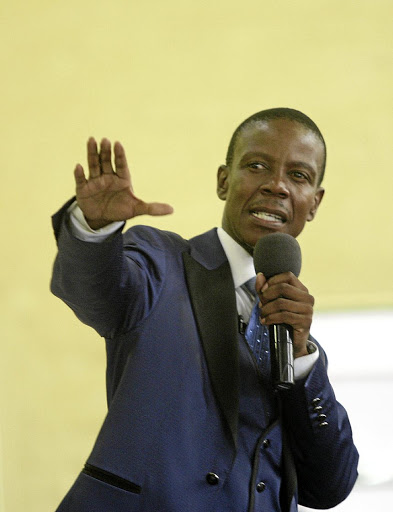 Prophet Paseka Motsoeneng has taken action against banking group Absa for unknown beneficiaries fleecing his account.